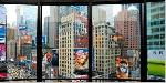 Poster de Torsten Andreas HOFFMANN Times Square New-York