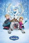 Affiche du film d'animation La Reine des neiges
