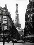 Poster Une rue de Paris, vers 1965