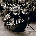 Photo noir & blanc de Bret STAEHLING Gondoliere