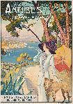 Affiche vintage de DELLEPIANE Antibes