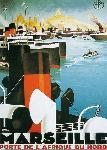 Affiche publicitaire de Roger BRODERS Marseille