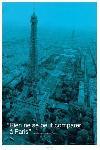 Affiche Paris la tour eiffel en bleu