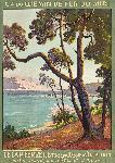 Affiche ancienne Le Cap Ferret