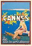 Affiche ancienne de SEM Cannes