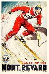 Affiche publicitaire de ORDNER Mont Revard