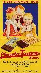 Affiche ancienne Le chocolat de Turenne