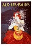 Affiche ancienne de Leonetto CAPPIELLO Aix-Les-Bains