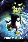 Affiche jeux vidéo Epic Mickey