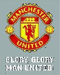 Affiche écusson de Manchester United