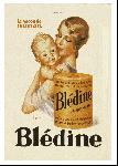 Affiche publicitaire LE MONNIER Blédine