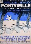 Affiche ancienne de Leo LELEE Au coeur de la Provence