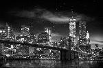 Affiche noir & blanc de New York