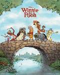 Affiche de Winnie l'Ourson (effet métal)