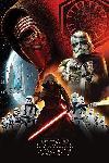 Poster de la saga Star Wars Episode VII