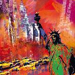Affiche de Robert Holzach New York