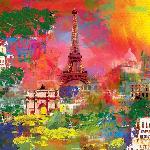 Peinture de Robert Holzach Paris