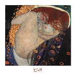 Peinture de Gustav Klimt Danae