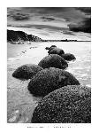 Photo noir et blanc de Monte Nagler Otago Coast, New Zealand