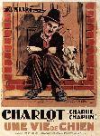 affiche du film Charlie Chaplin Une Vie de chien