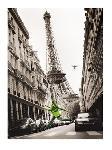 Photo noir & blanc de T. Krüsselmann Big Jump in Paris