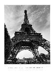 Photo noit & blanc de Henri Silberman La Tour Eiffel, Paris