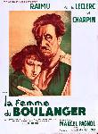 Affiche officielle du film La Femme du boulanger de Marcel Pagnol