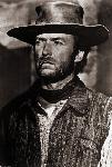 Affiche portrait de Clint Eastwood