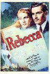 Affiche du film de Alfred Hitchcock Rebecca