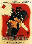 Poster du film de Alfred Hitchcock Les Enchaînés