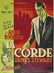 Affiche du film de Alfred Hitchcock La Corde