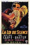 Poster du film de Alfred Hitchcock La Loi du silence