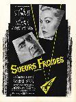 Affiche du film Sueurs froides de Alfred Hitchcock