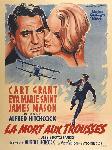 Poster du film La Mort aux trousses de Alfred Hitchcock