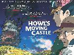 Affiche du film manga / animation Le Château ambulant
