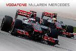 Poster de Mc Laren - F1 2012