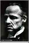 Affiche du film le Parrain (Marlon Brando)