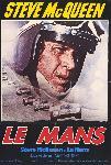 Affiche du film Le Mans (mcqueen)