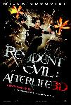 Affiche officielle du film Resident Evil : Afterlife 3D