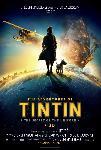 Affiche du film des Aventures de Tintin Le secret de la Licorne