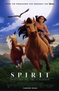 Poster du dessin animé Spirit l'étalon des plaines