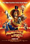 Affiche du film animé Madagascar 3 Bons Baisers D'Europe