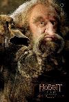 poster du film Bilbo le Hobbit (Oin)
