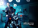 Affiche de la série TV Docteur House (moto)