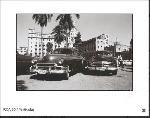 Affiche noir & blanc de voitures anciennes