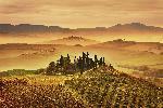 Affiche de la Toscane en Italie