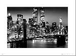 Affiche noir & blanc Art Print New York