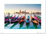 Affiche art print des Gondoles de Venise