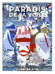 Affiche La Trinité sur Mer Paradis de la Voile