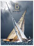 Affiche Voile - 6 mètres JI - Coupe du Monde